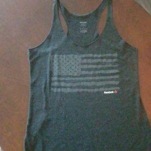 Reebok American Flag Gym Tank Top